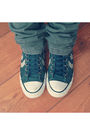Blue-converse-shoes-red-malwee-top