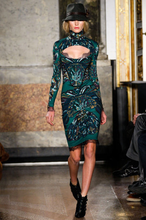 Emilio Pucci boots - Emilio Pucci dress