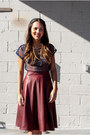Navy-free-people-blouse-crimson-solemio-skirt-black-steve-madden-heels