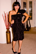 Vtg dress - Carlos Santana shoes - my mums purse - Vtg bracelet