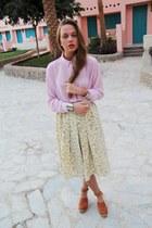 light pink weekday blouse