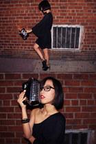 art deco Zara heels
