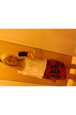 Topshop vest - Topshop skirt