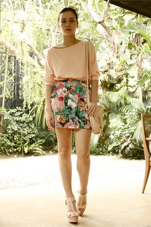 Parisian heels - cotton on dress