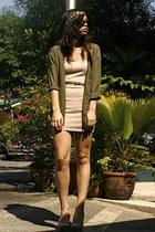 H&M dress - H&M headband hat - H&M blouse - Forever 21 heels