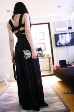 Forever 21 dress - Accessorize bag - SM skirt