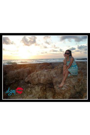 Forever 21 dress - Ralph Lauren glasses - delias swimwear