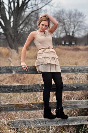 River Island dress - Jeffrey Campbell wedges