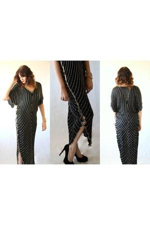 silk maxi WWWDEEPOCANET dress