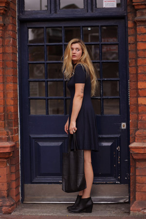 black ankle boots asos boots - navy asos tall dress asos dress