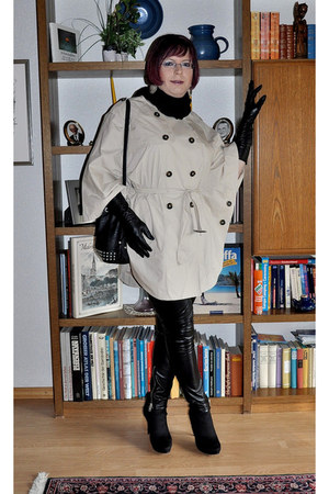 Deichmann boots - H&M coat - New Yorker leggings - H&M scarf - MrLady bag - H&M