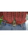 Salmon-knit-grandmas-sweater-off-white-canvas-backpack-forever-21-bag-sky-bl