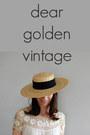 Dear-golden-hat