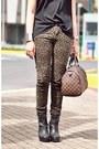 Dark-khaki-leopard-print-jeans-black-baxter-courtesy-of-gold-dot-boots