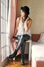 Black-zara-pants-white-what-a-girl-wants-top-black-soule-phenomenon-boots-