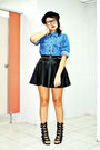 Archive-clothing-shirt-black-forever-21-skirt-black-soule-phenomenon-shoes