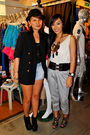 Black-love-vintage-manila-blazer-black-topshop-boots-black-glitterati-top-