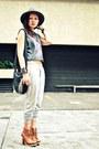 Tawny-gold-dot-boots-heather-gray-topshop-topshop-black-esprit-bag