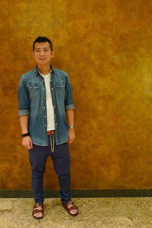 H&M shirt - Topman pants - Mihara Yasuhiro Sandal shoes - Comme des Garcons HOMM