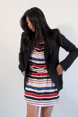 H&M dress - Zara blazer