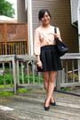 Black-vintage-vinyl-prada-bag-black-skater-charlotte-russe-skirt