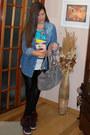 Black-shine-leggings-blue-skinny-jeans-shirt-heather-gray-nice-roxy-bag-ma