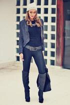 Ma bags bag - Schutz boots - Apoá coat - Kafé belt - Limited pants