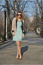 Dorothy Perkins blazer - Zara shoes - Local store dress - New Yorker necklace