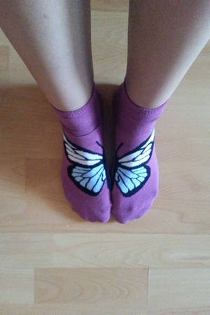 purple Takko socks