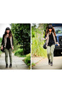 Black-madewell-shoes-camel-wilfred-scarf-black-marc-by-marc-jacobs-bag