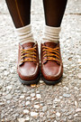 Beige-tna-socks-dark-brown-eastland-shoes-olive-green-cheap-monday-dress
