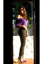 Emma & Sam top - Era of Chaos pants - Jeffrey Campbell shoes - forever 21 neckla