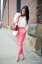 H&M blazer - Celine purse - Alexander Wang t-shirt - Christian Louboutin heels -