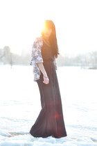 chiffon Stradivarius dress