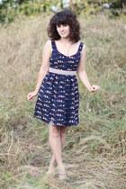 modcloth dress - seychelles heels
