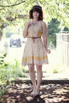 modcloth dress - seychelles heels