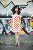 modcloth dress - modcloth heels - Francescas Collection necklace