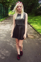 asos sneakers - Topshop hat - River Island skirt - Glamorous UK top
