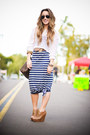 Maxi-dress-target-dress-knit-forever21-sweater-louis-vuitton-bag