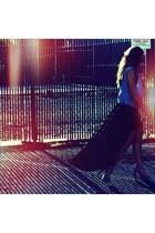 brandy melville skirt - Steve Madden heels