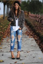 Zara shoes - Forever 21 jacket