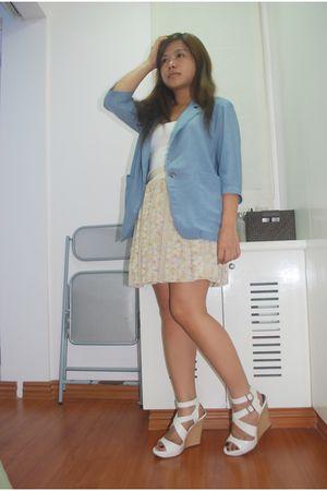 blue Archive Clothing blazer - beige Coexistonlinemultiplycom skirt - white mich
