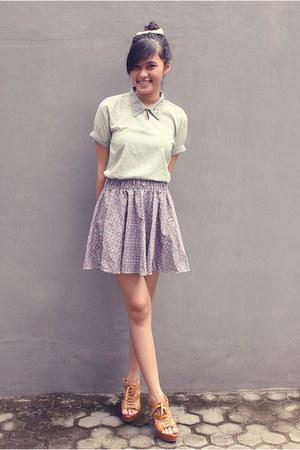 floriestyle skirt - Gaudi top - unbranded heels