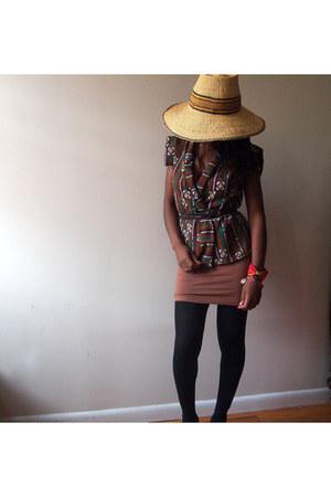 straw hat Dance Africa street festival hat