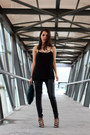 Black-zara-leggings-teal-zara-bag-black-zara-heels-black-nordstrom-top
