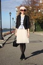 H&M hat - H&M blazer - kate spade bag - Urban Outfitters skirt - Payless heels