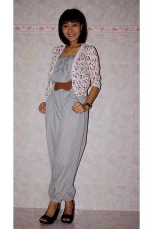 pink Just Wanderlust cardigan - silver muayaclothingline jumper