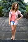 H-m-blazer-secondhand-shorts-f-f-t-shirt-deichmann-heels
