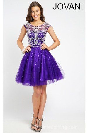 deep purple Jovani 20200 dress