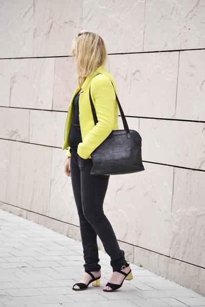 Zara blazer - H&M jeans - Mango sandals